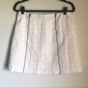 Xhilaration Zipper Mini Skirt